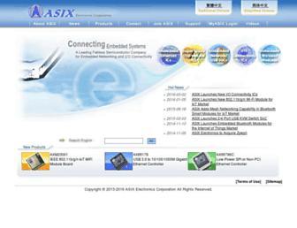 asix.com.tw screenshot