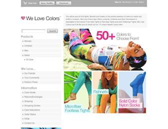 Thumbshot of Welovecolors.com