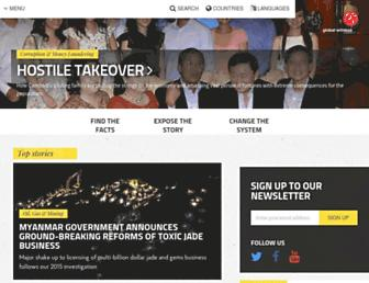 globalwitness.org screenshot