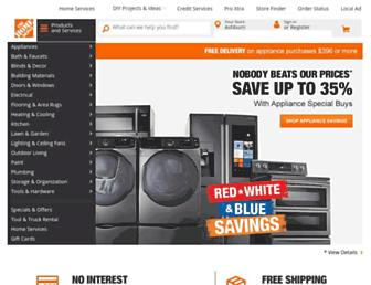 Thumbshot of Homedepot.com