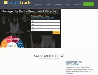 empxtrack.com screenshot