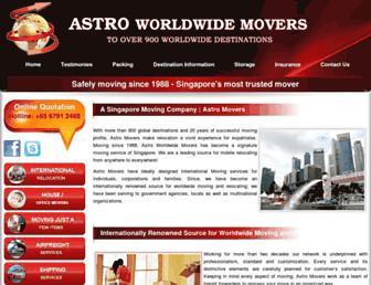 astro-movers.com screenshot