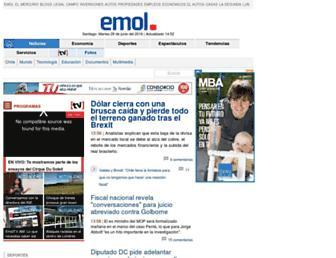 Thumbshot of Emol.com