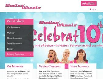 sheilaswheels.com screenshot