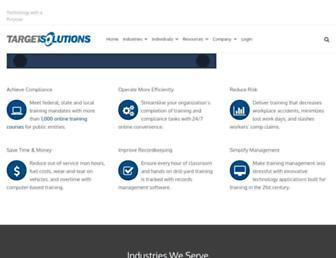 Thumbshot of Targetsolutions.com