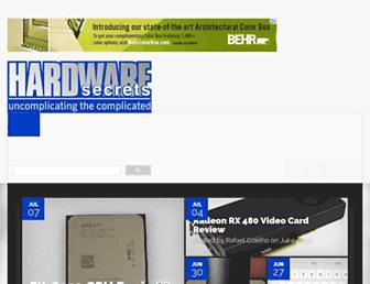 Thumbshot of Hardwaresecrets.com