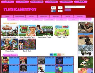 Thumbshot of Flashgamesspot.com