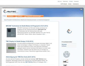 autec-gmbh.de screenshot
