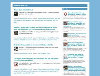 nokiaashagames-free.blogspot.com screenshot