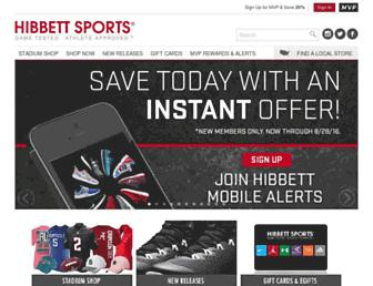 hibbett.com screenshot
