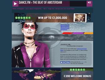 dance.fm screenshot
