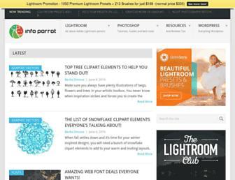 infoparrot.com screenshot