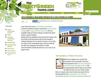 thesexygreenhome.com screenshot