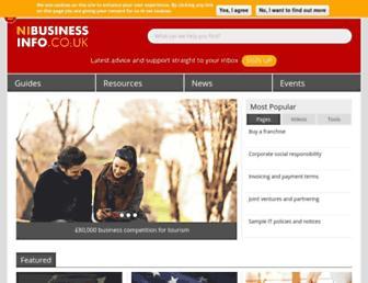 Thumbshot of Nibusinessinfo.co.uk