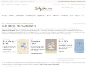 Thumbshot of Baby-memory-books.com