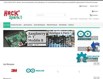 Thumbshot of Hackspark.fr