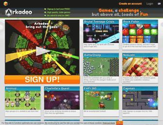 Thumbshot of Arkadeo.com