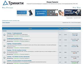 3nity.ru screenshot