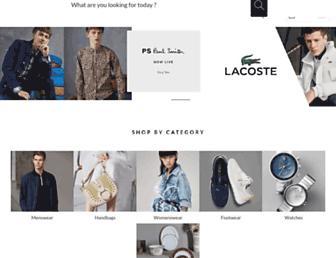 luxury.tatacliq.com screenshot
