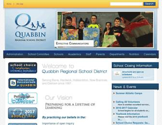 qrsd.org screenshot