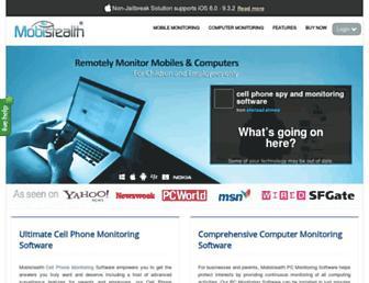 mobistealth.com screenshot