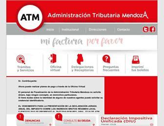 atm.mendoza.gov.ar screenshot
