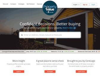 Thumbshot of Propertyvalue.com.au