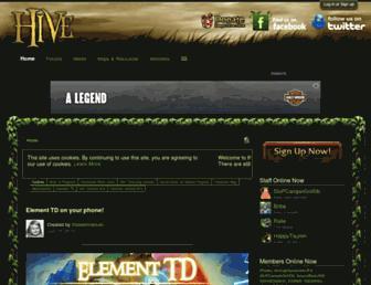 hiveworkshop.com screenshot