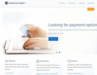 unitedautocredit.net screenshot