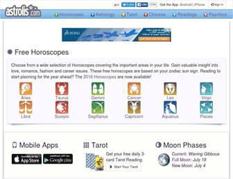 astrolis.com screenshot