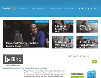 blog.reachlocal.com screenshot