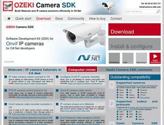 camera-sdk.com screenshot