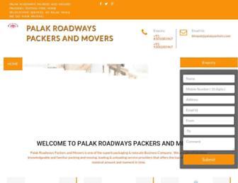 palakpackers.com screenshot