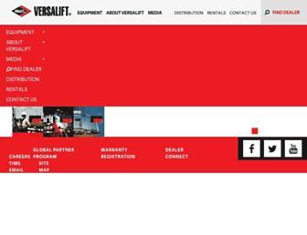 versalift.com screenshot