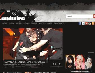 loudwire.com screenshot