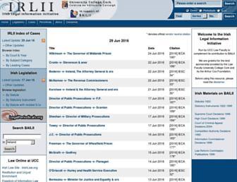 irlii.org screenshot