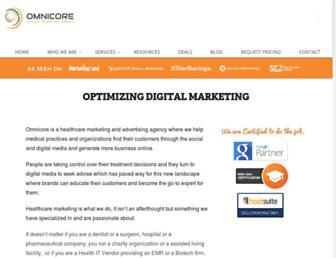 omnicoreagency.com screenshot
