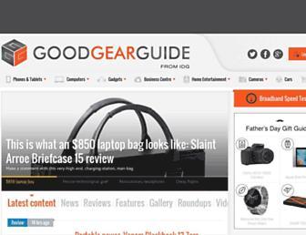 goodgearguide.com.au screenshot