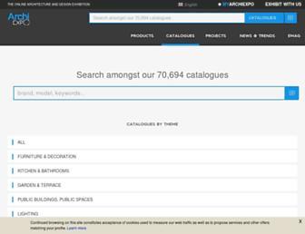pdf.archiexpo.com screenshot