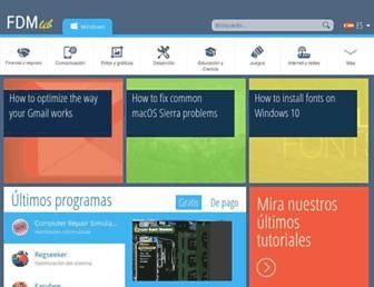 es.freedownloadmanager.org screenshot