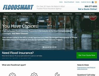 floodsmart.com screenshot