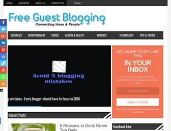 Thumbshot of Freeguestblogging.info