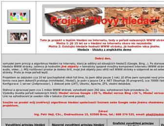 Main page screenshot of milionovastranka.net