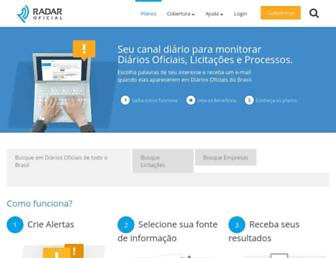 Thumbshot of Radaroficial.com.br