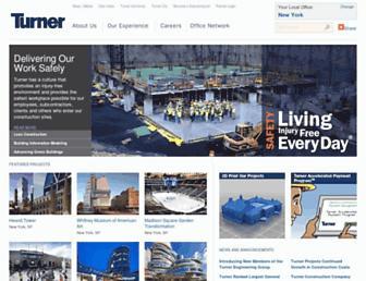 Thumbshot of Turnerconstruction.com