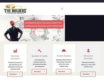 buildersbroker.com.au screenshot
