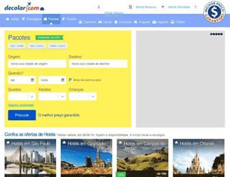 decolar.com screenshot