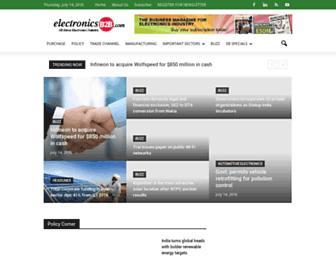 electronicsb2b.com screenshot