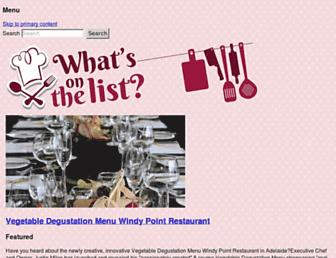 Thumbshot of Whatsonthelist.net