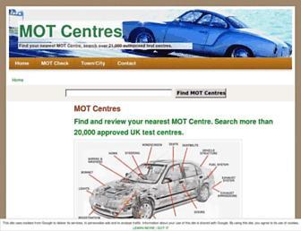 mot-testers.co.uk screenshot